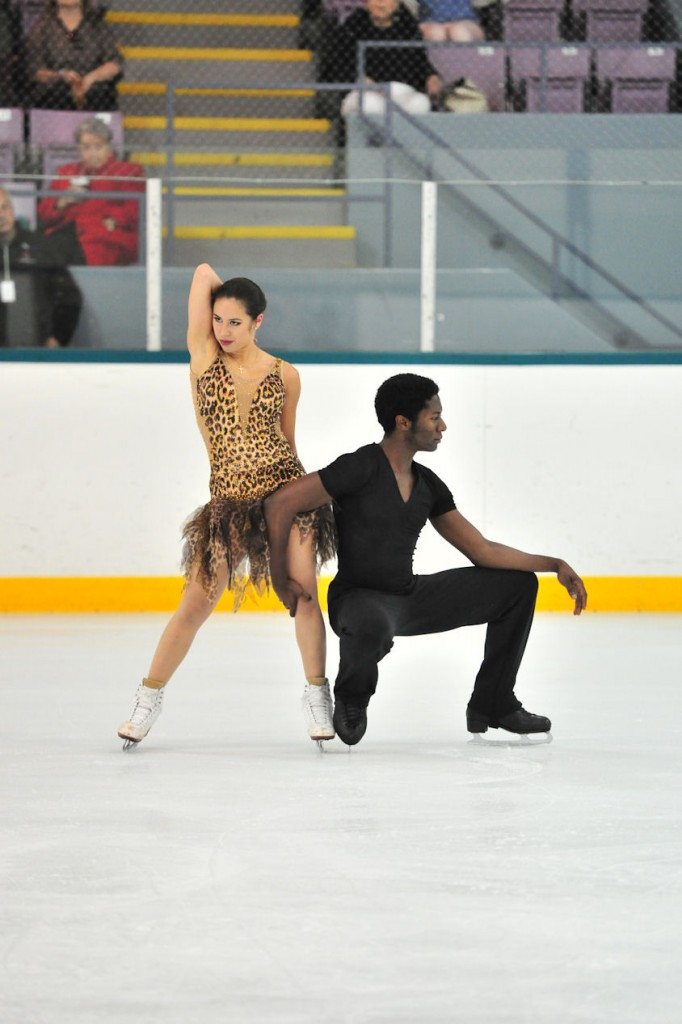Kharis Ralph and Asher Hill perform their free dance at the 2013 Skate Canada COS (Thornhill) Summer Skate (Photo by Danielle Earl)