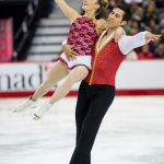 Lawrence and Swiegers in the free skate at the 2014 Canadian Championships. Photo by Danielle Earl.